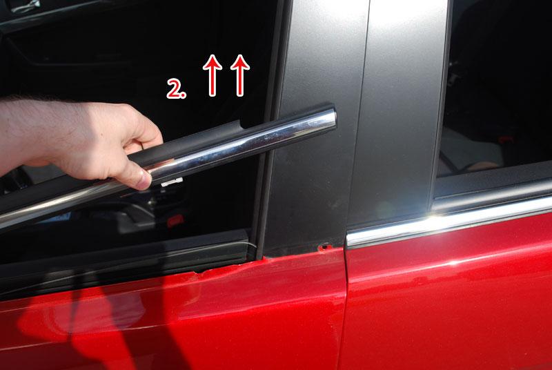 How to remove chrome window trim evolutionm - How to caulk exterior window trim ...